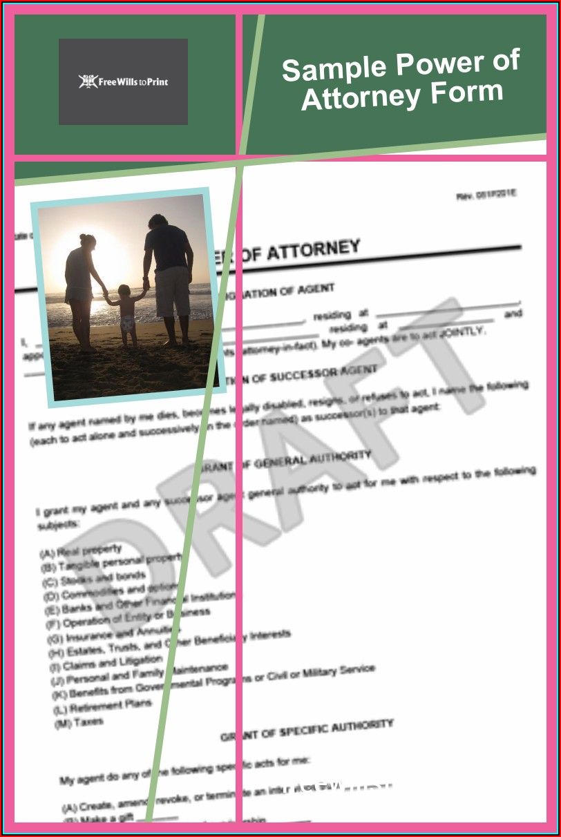 Free Forms For Wills And Power Of Attorney
