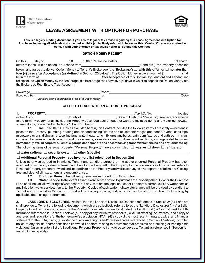 Free Georgia Lease Agreement Form