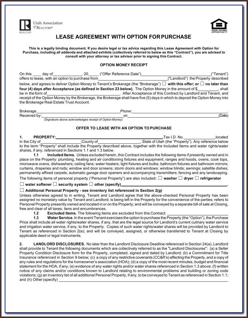 Free Georgia Lease Agreement Form