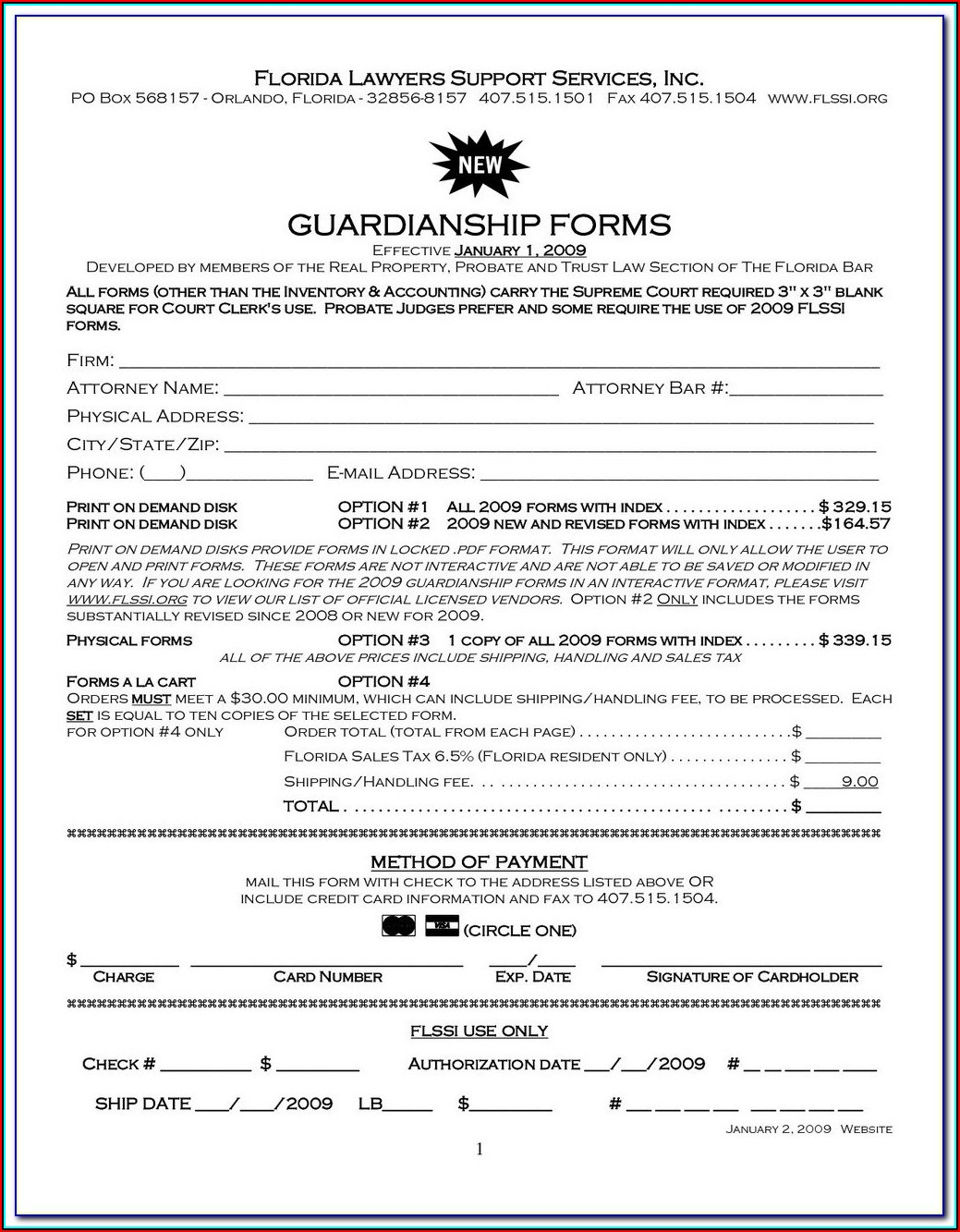 Free Guardianship Forms Arizona