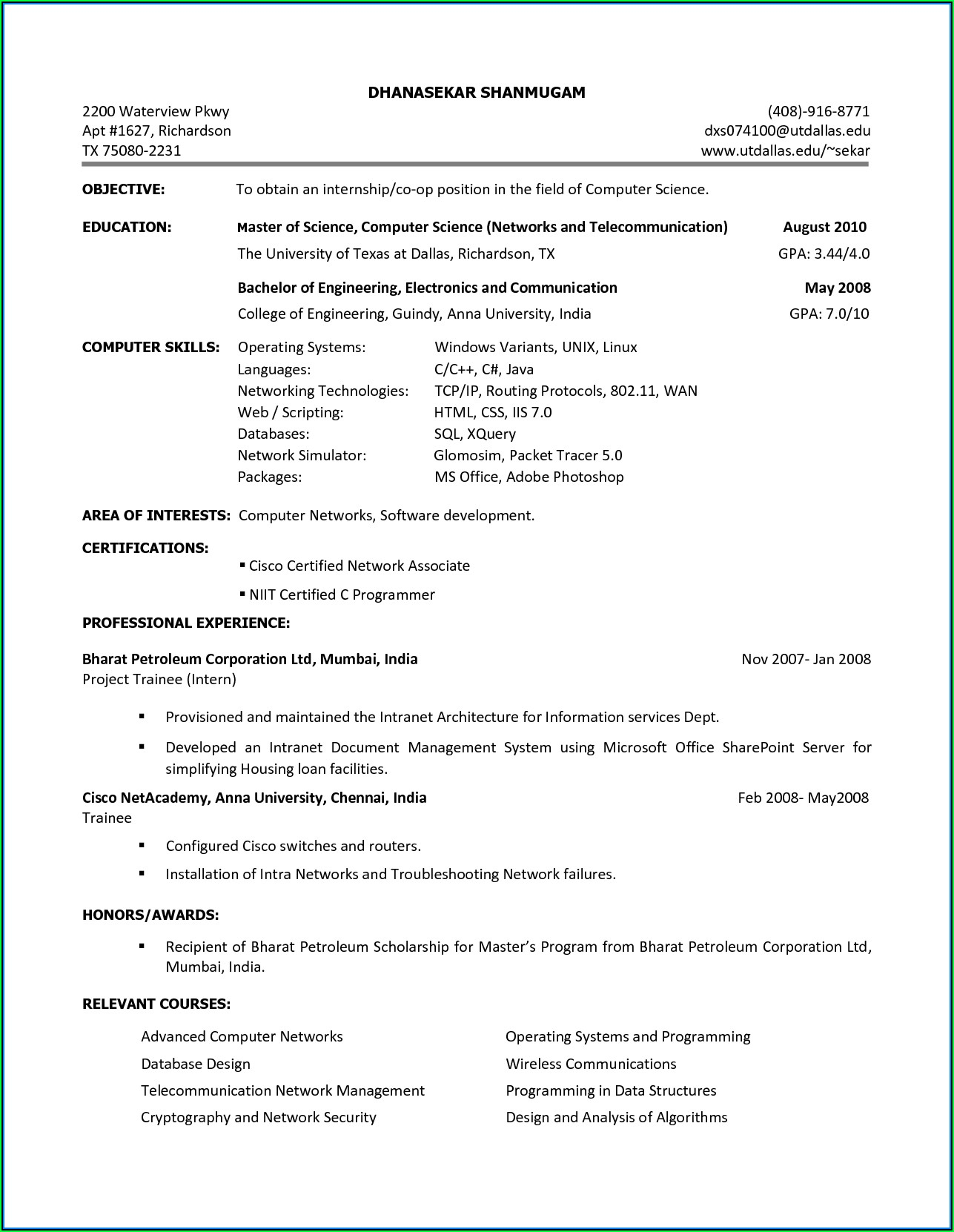 Free Online Resume Maker Download