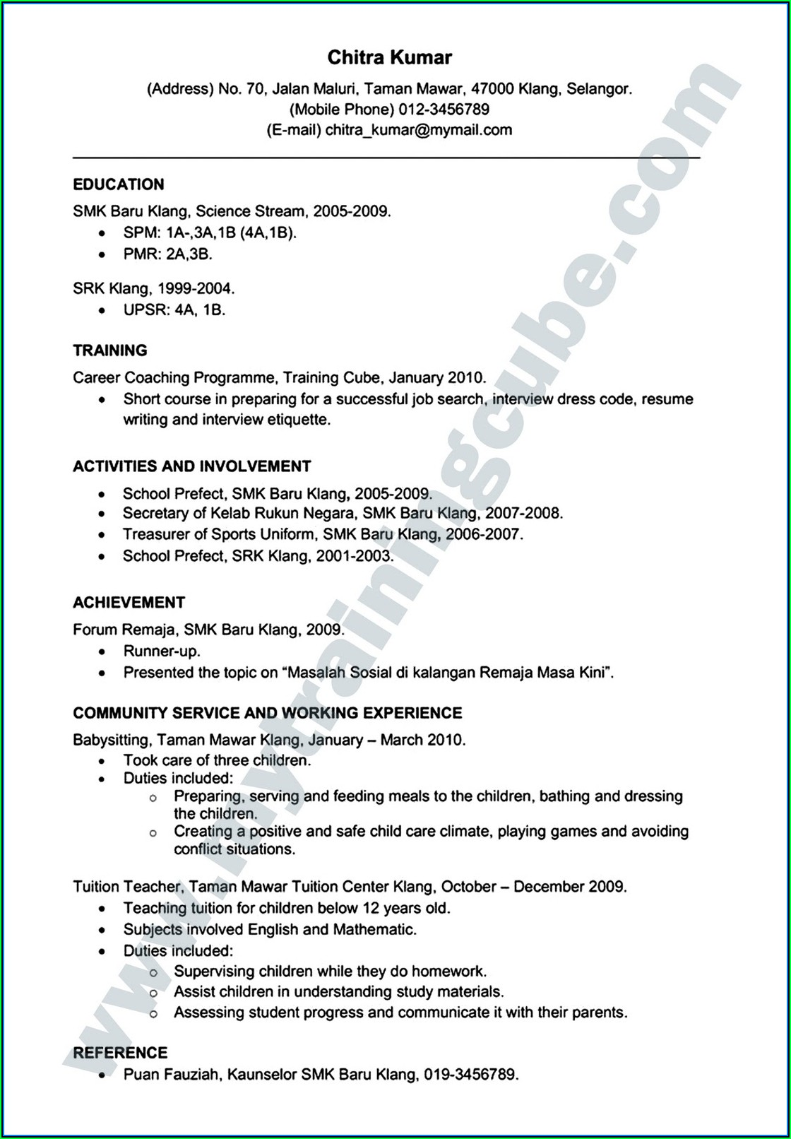 Free Online Resumes Download