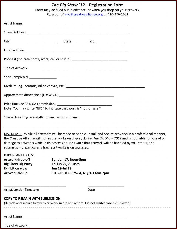 Free Printable Loan Agreement Form