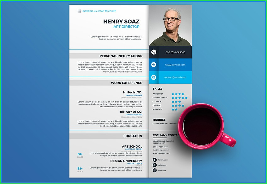 Free Professional Resume Design Templates
