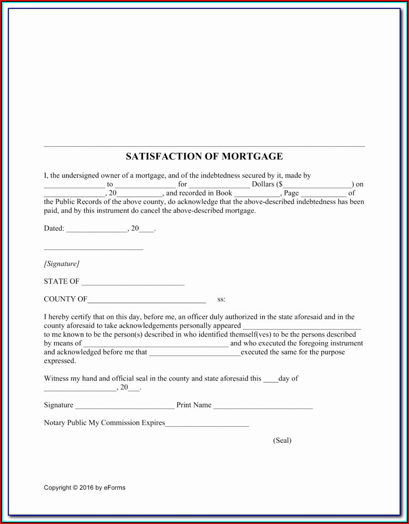 Free Subcontractor Lien Release Form