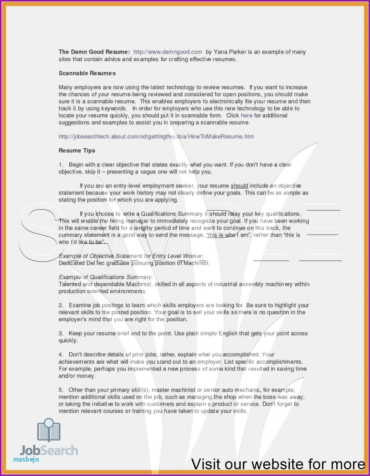Free Resume Database For Employers Chennai