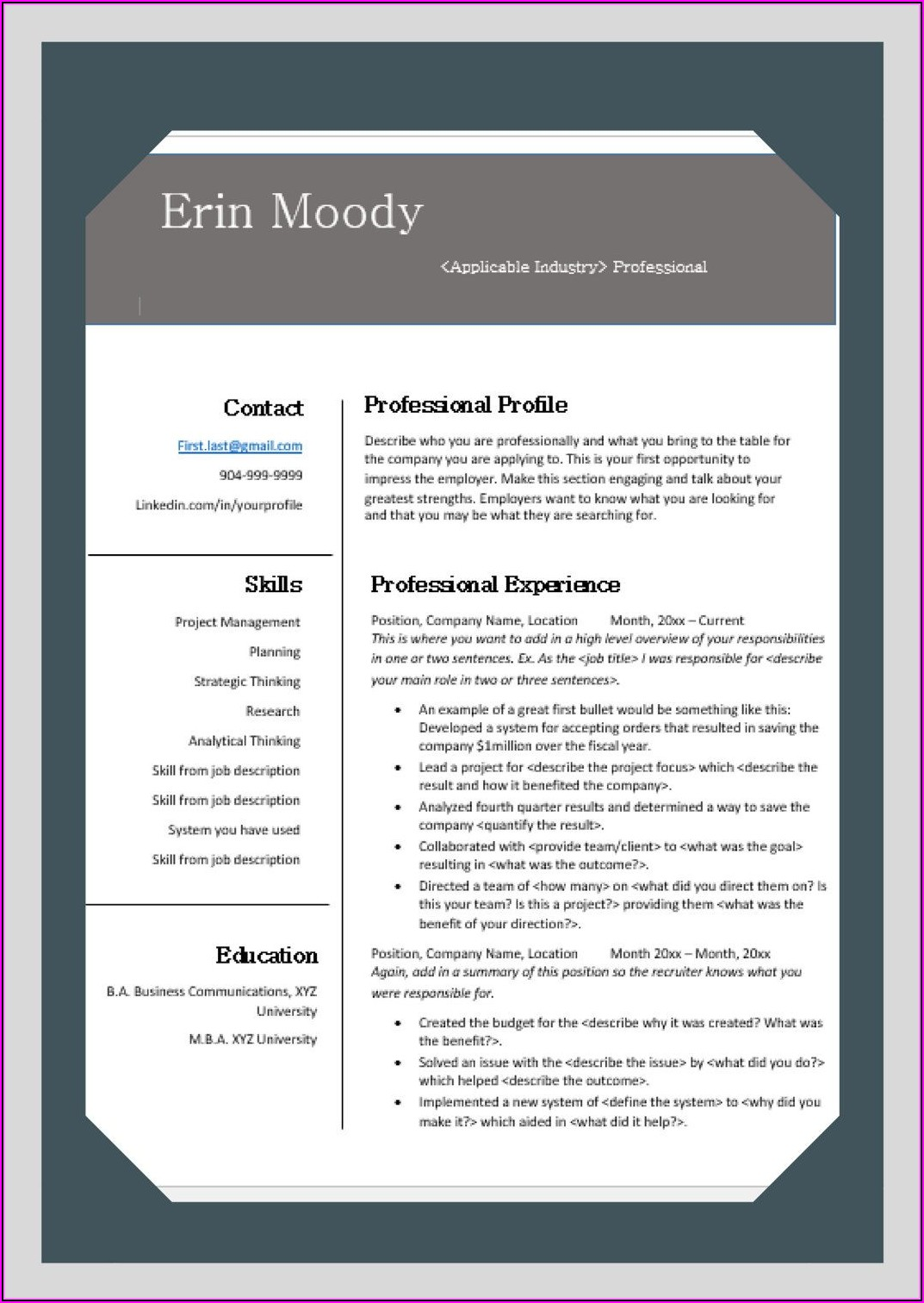Free Resume Search Engines
