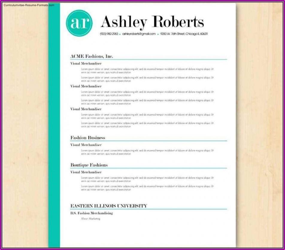 Free Resume Template Download Australia