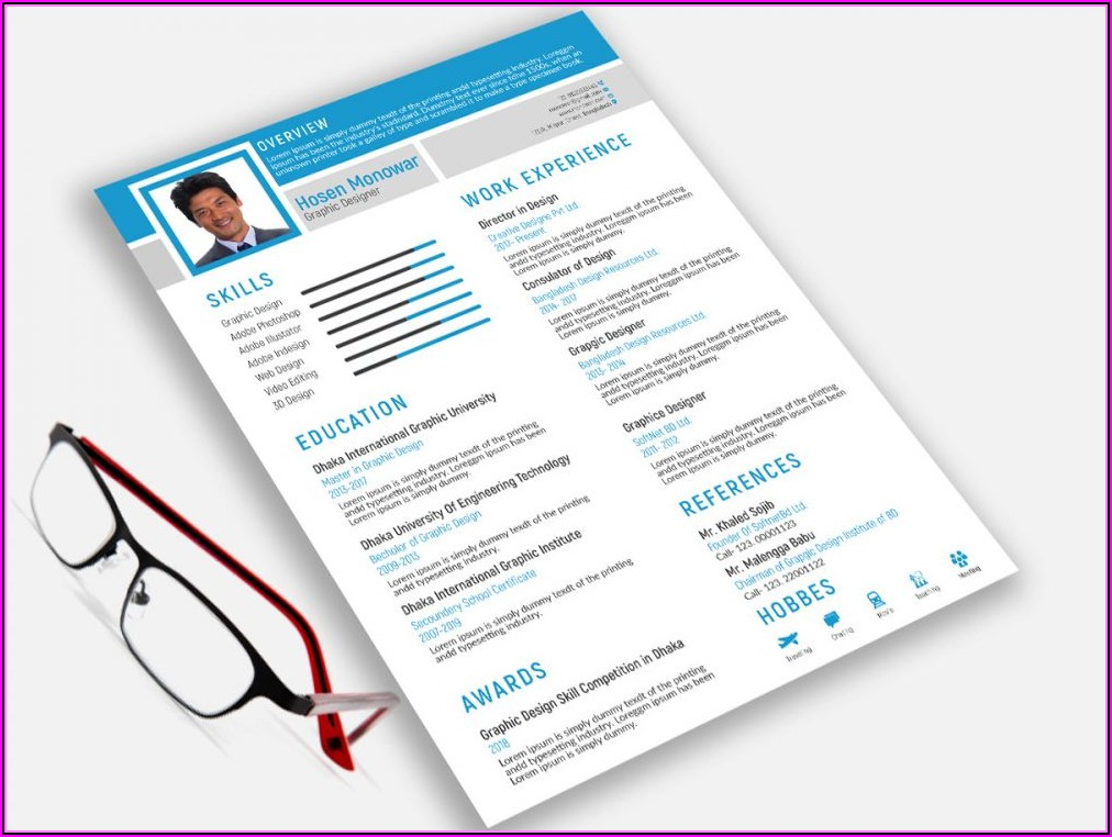 Free Template Resume 2019