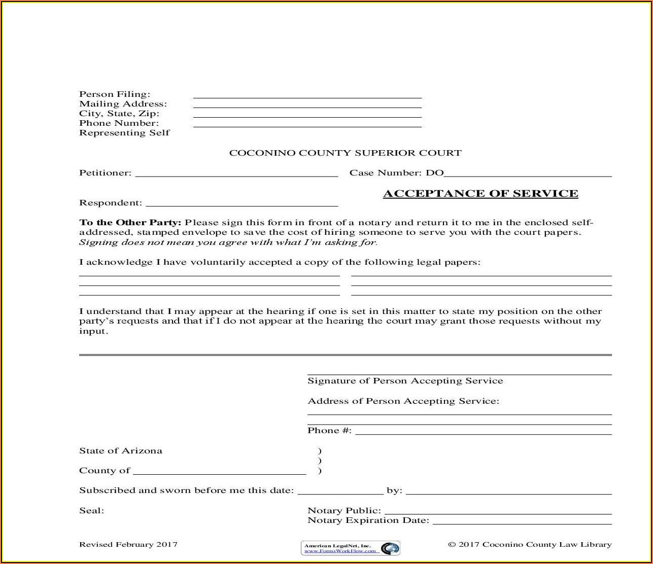 Guardianship Forms Arizona Superior Court