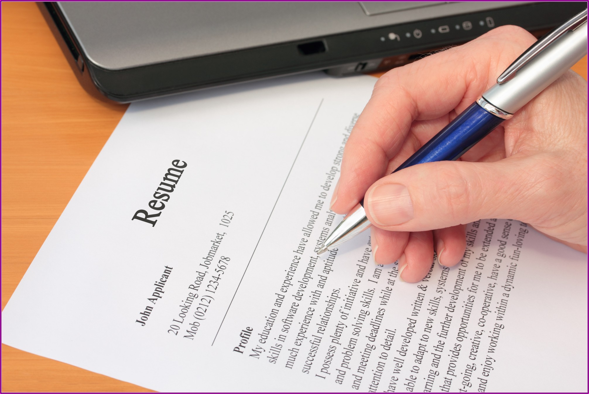 How To Be A Professional Resume Writer