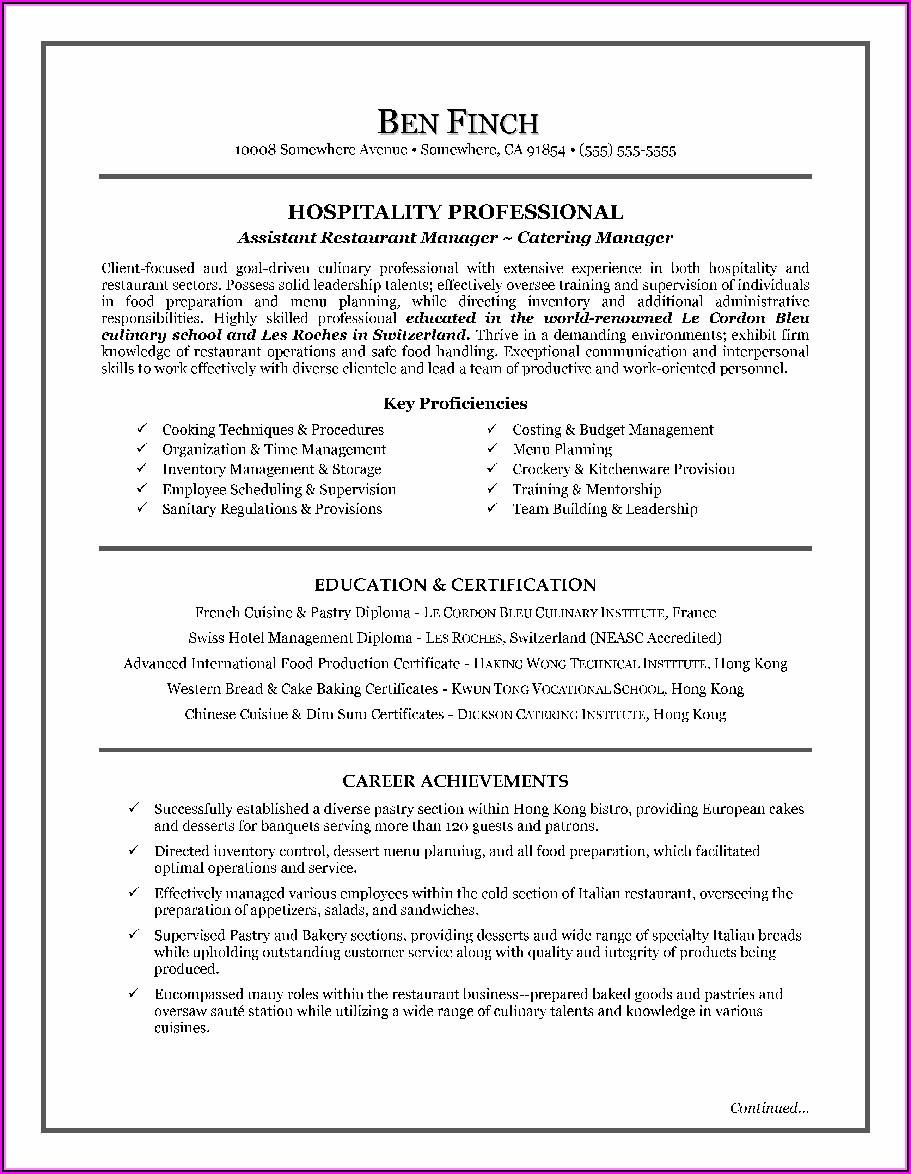How To Compose A Resume Cover Letter