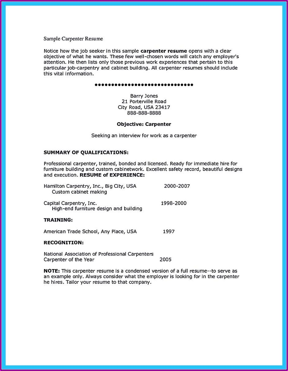 How To Make The Best Resume And Cover Letter