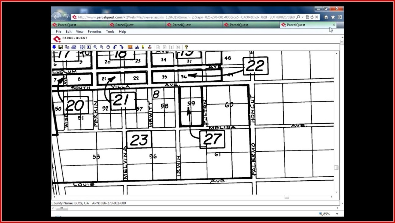How To Read Property Line Survey Maps