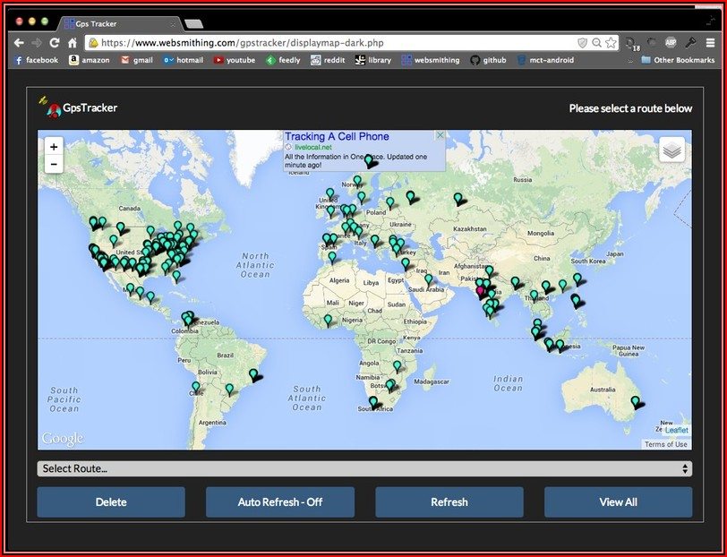 How To Use Google Map Gps Cell Phone Tracker