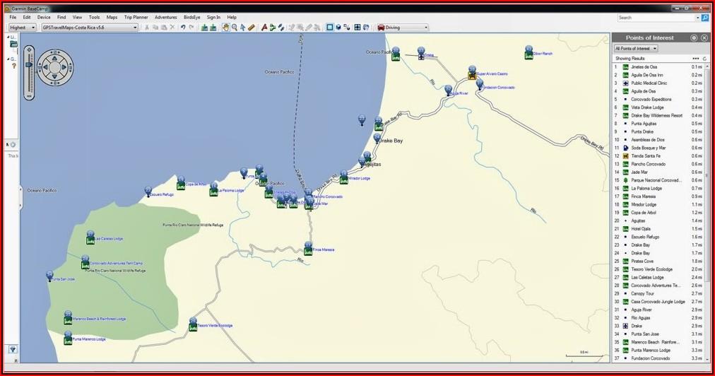Iceland Gps Map Magellan