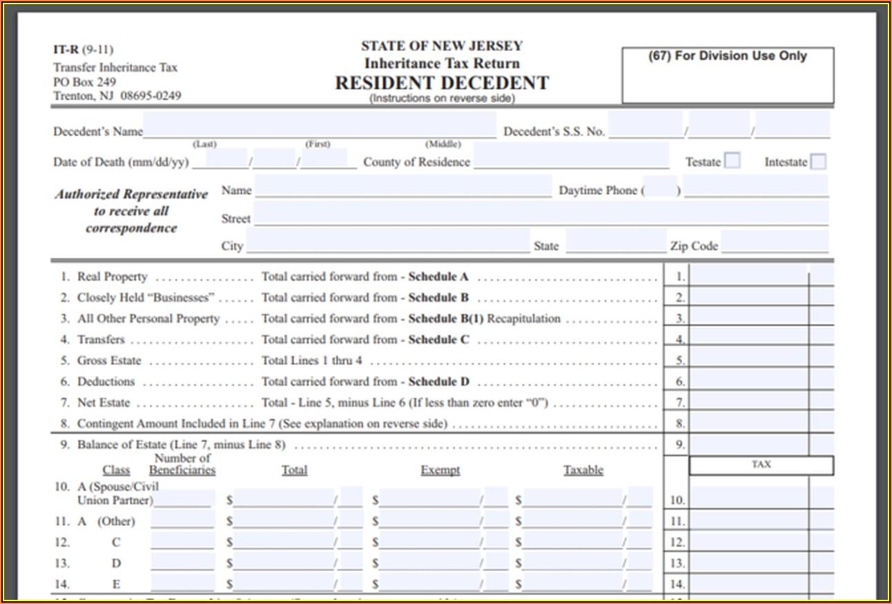 Inheritance Tax Waiver Form California
