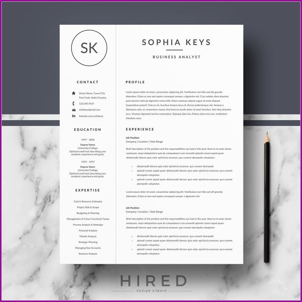 Instant Resume Templates Download