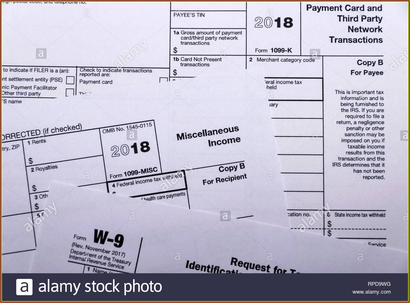 Irs 1099 Misc Forms
