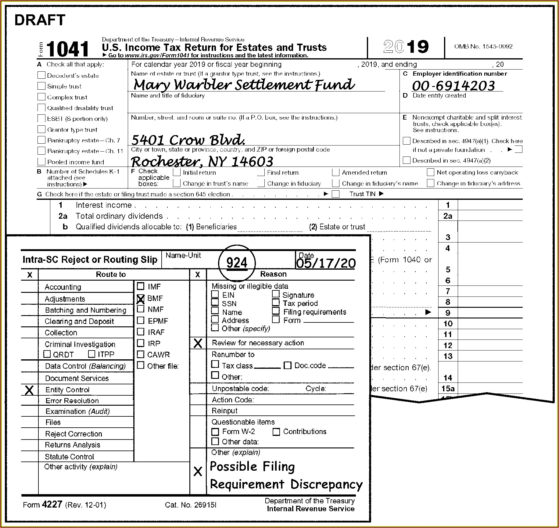 Irs Form 1041 Instructions 2018