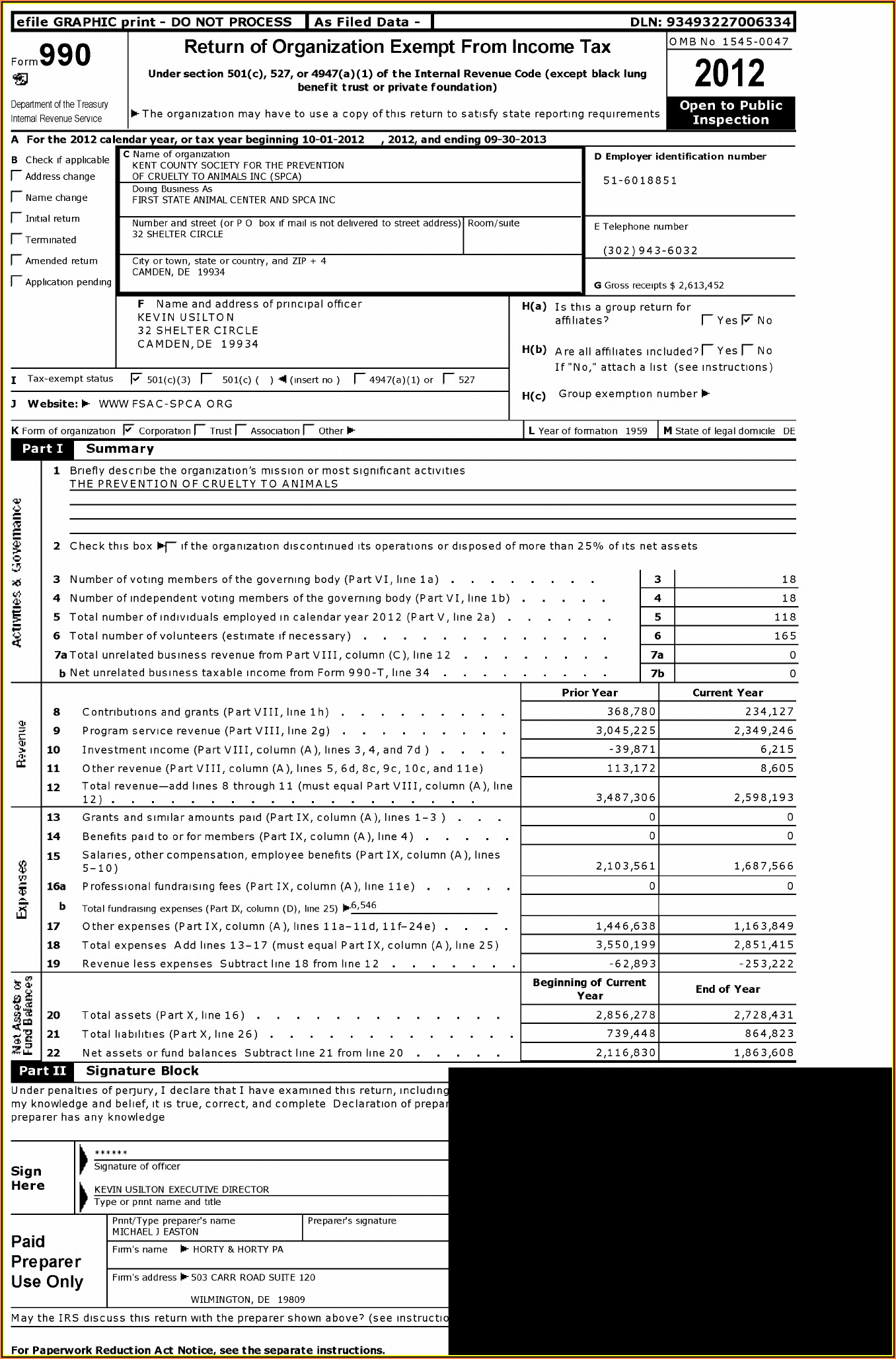 Irs Forms 990 Ez 2012