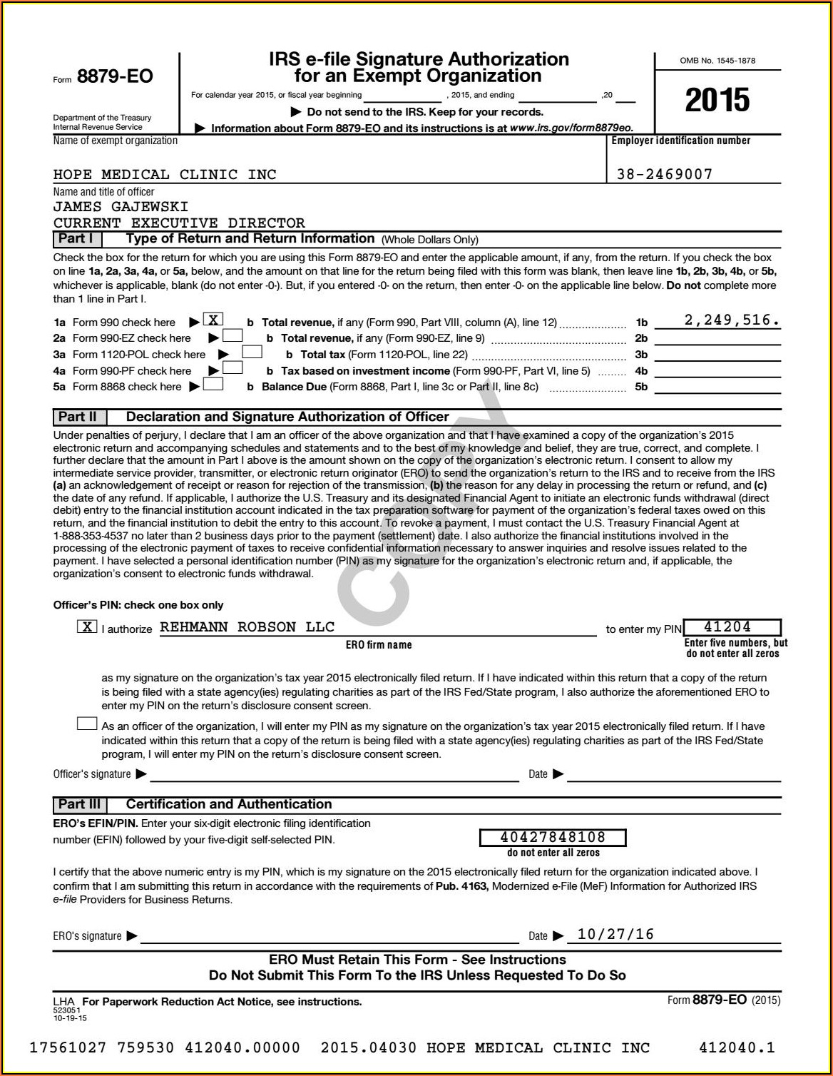 Irs Forms 990 Ez 2014