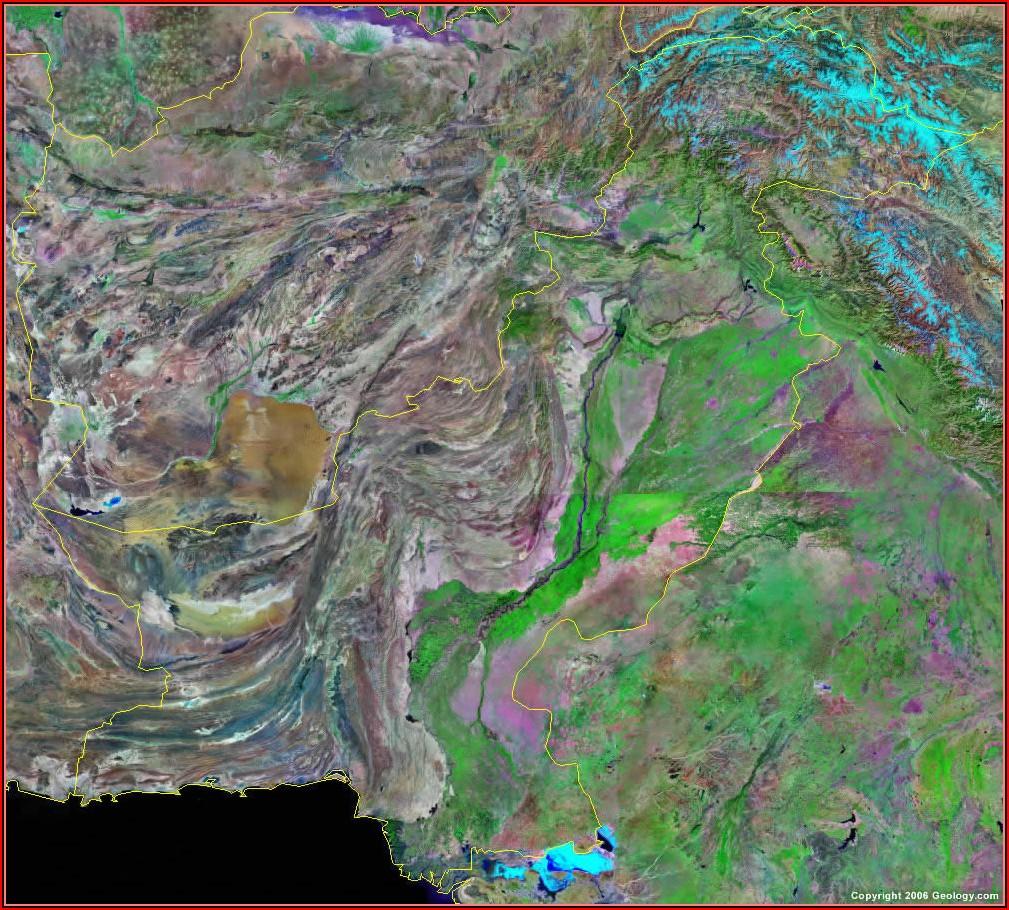 Live Satellite Google Map Of Pakistan