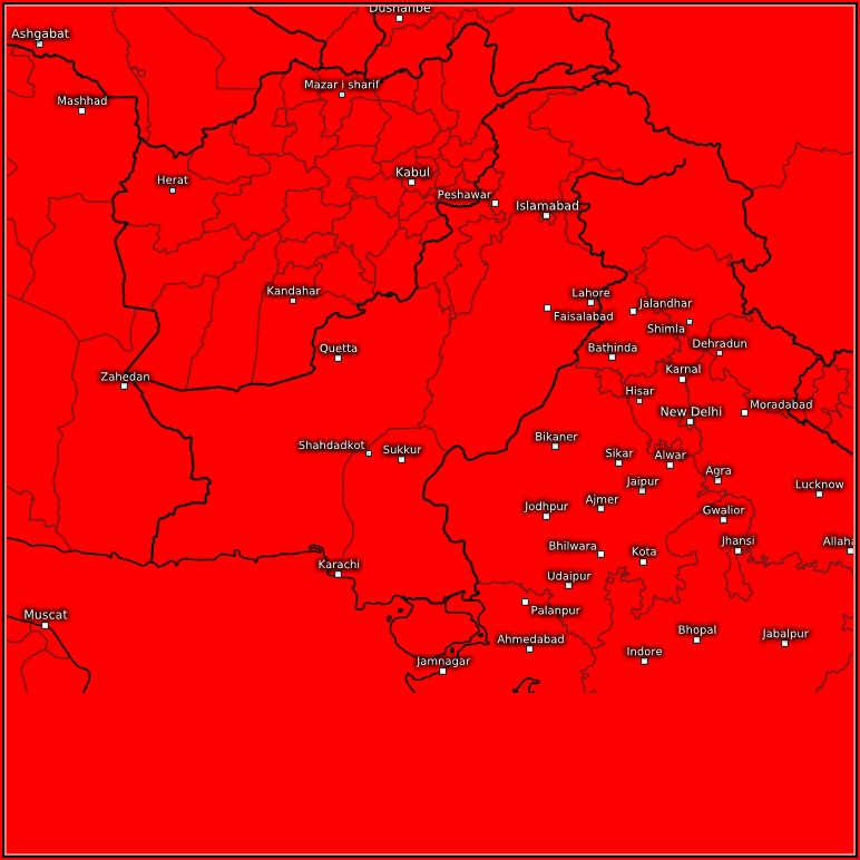 Live Satellite Weather Map Of Pakistan