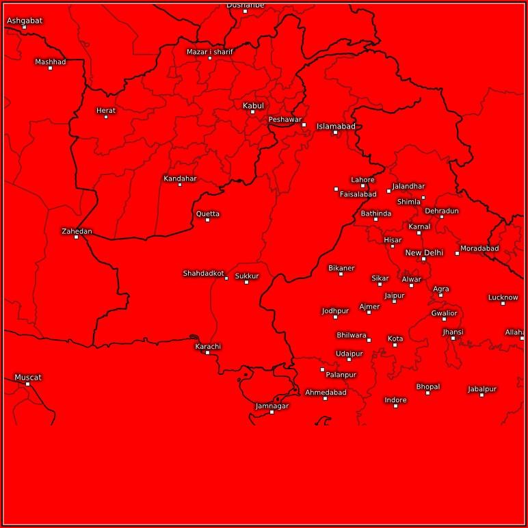 Live Satellite Weather Map Of Pakistan
