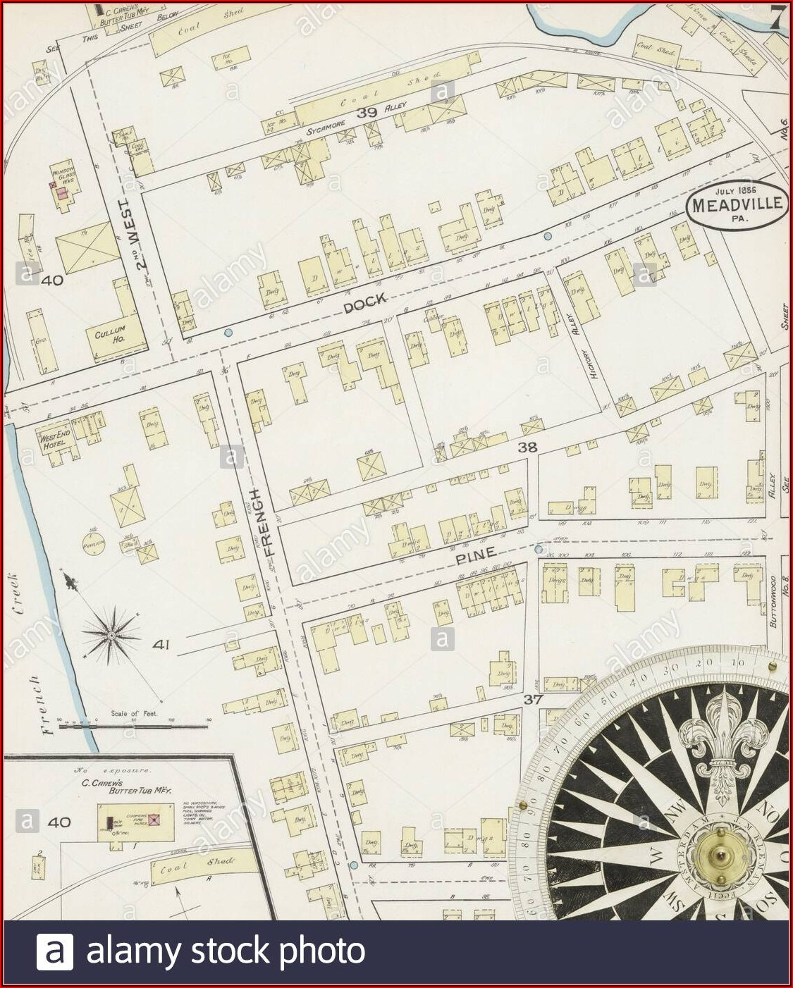 Map Of Crawford County Pennsylvania