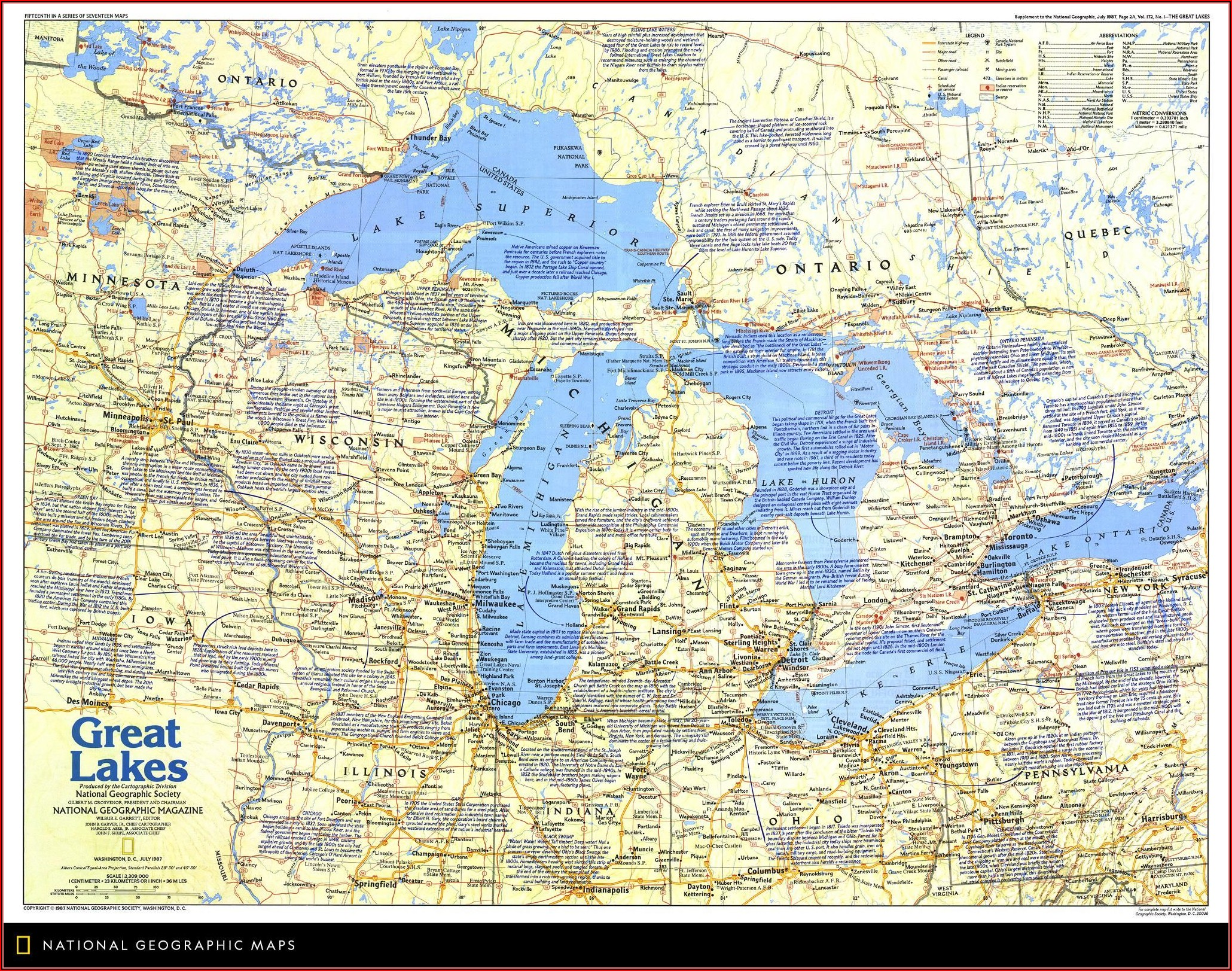 Map Of Great Lakes Illinois