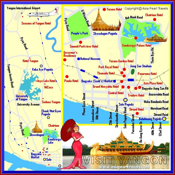 Map Of Hotels Sedona Az