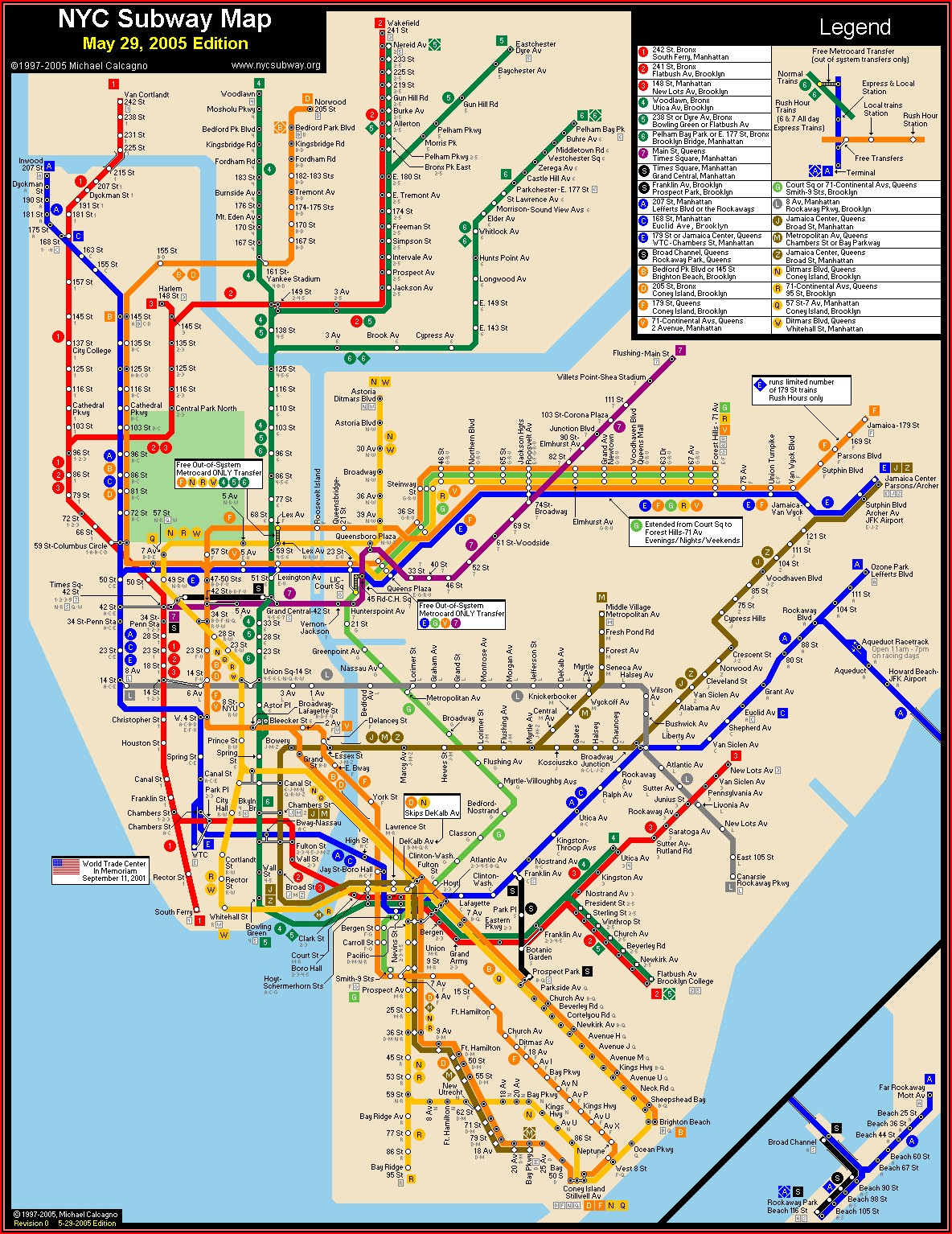 Map Of New York Metro
