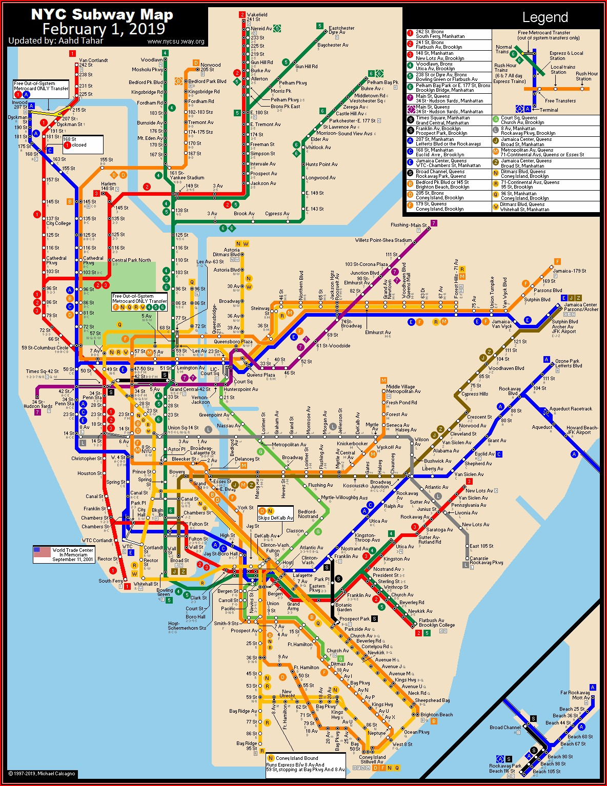 Map Of Nyc Metro System
