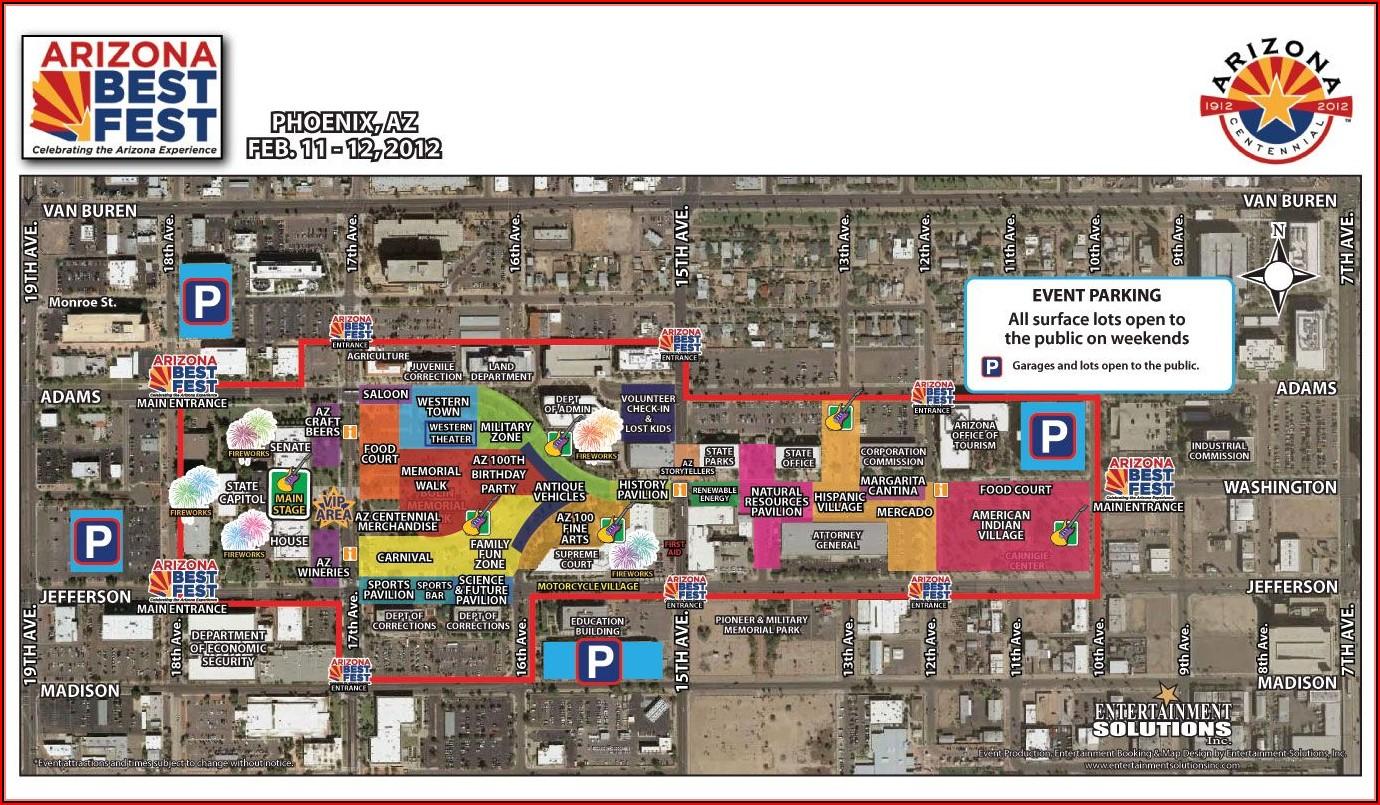 Map Of Sedona Hotels And Restaurants