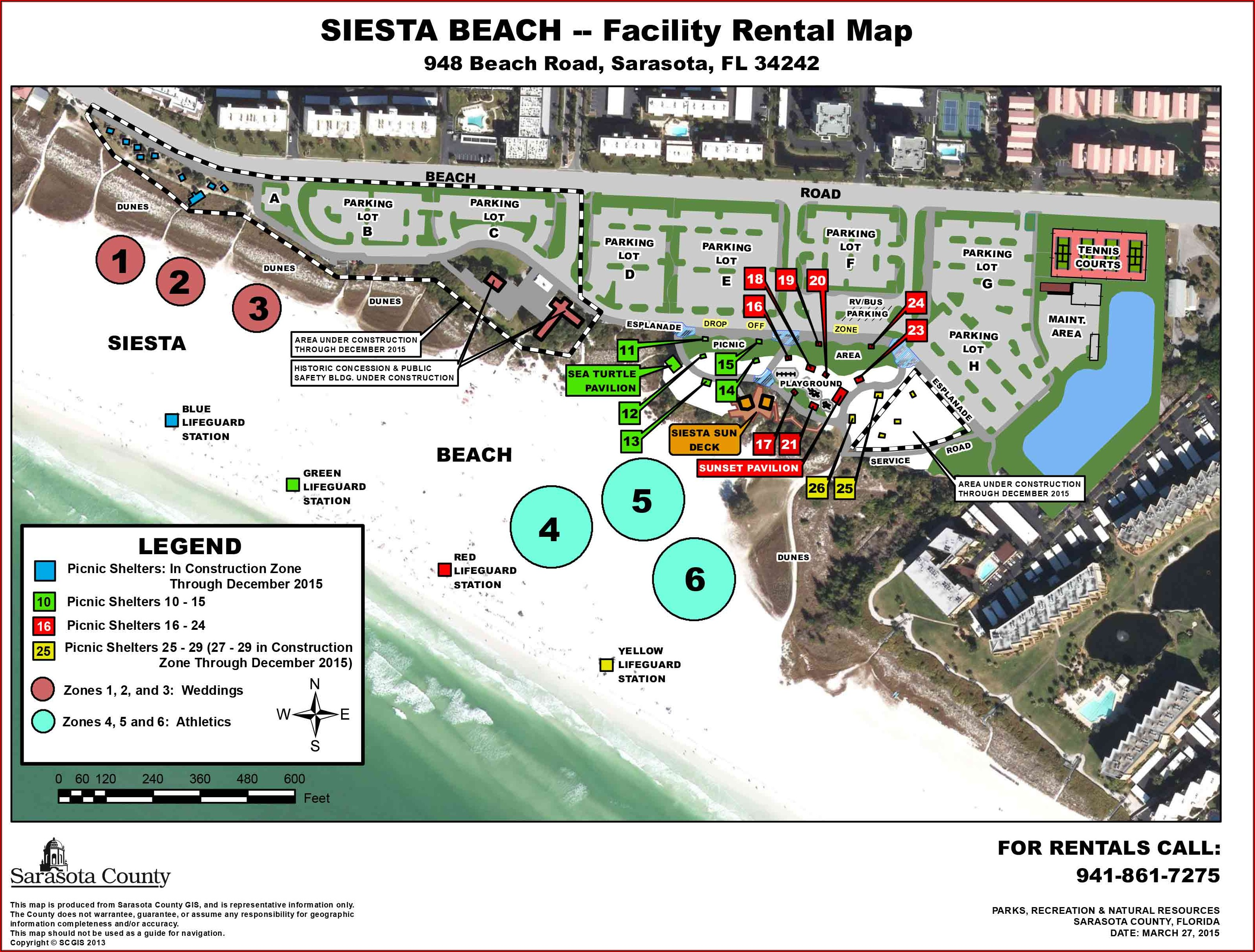 Map Of Siesta Key Beach Hotels