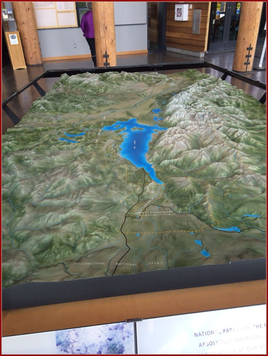 Map Of The Tetons