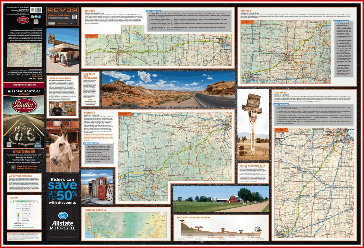 Maps Historic Route 66