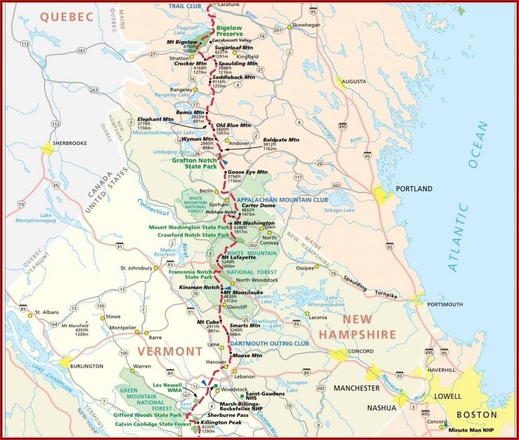 Maps Of Appalachian Trail