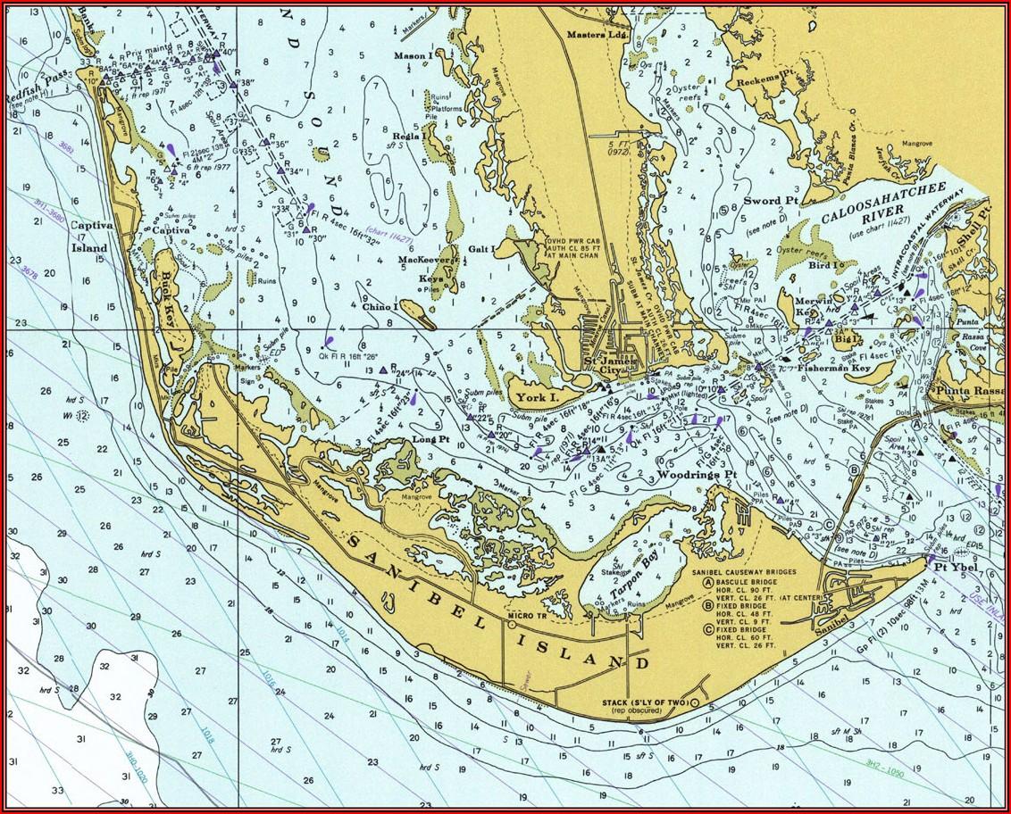 Maps Sanibel Island Fl