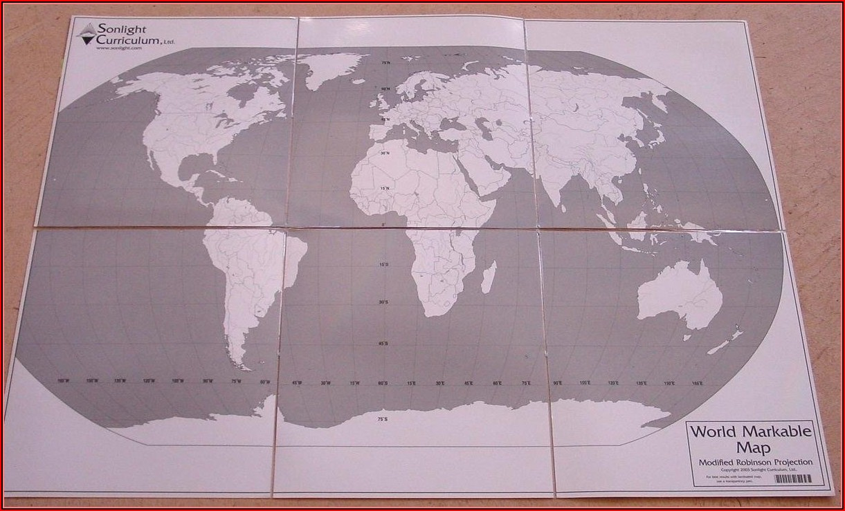 Markable World Map