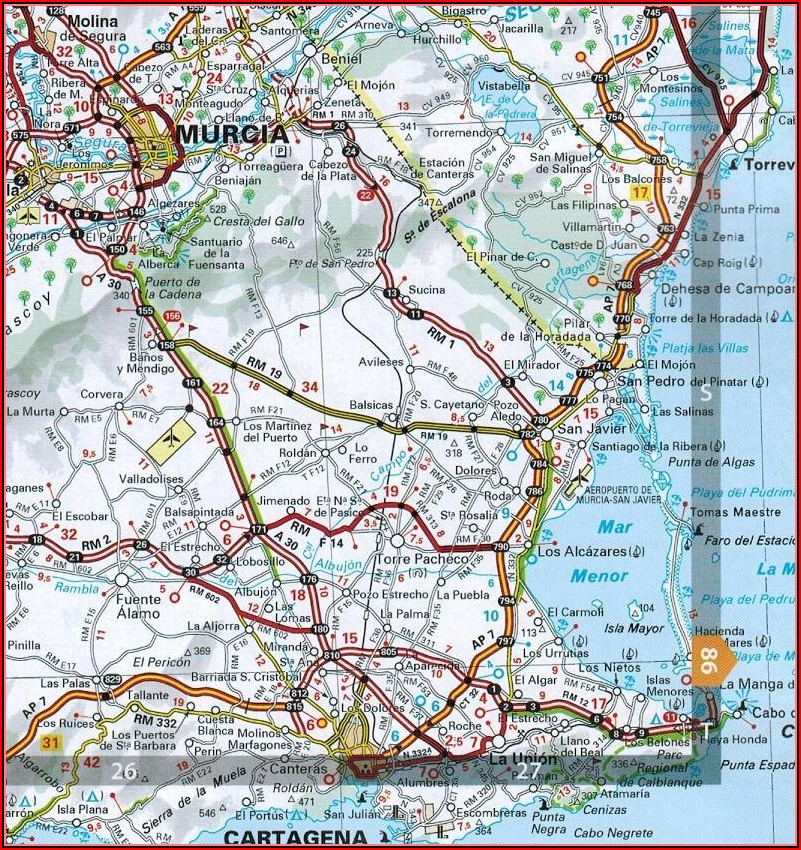 Michelin Road Maps Northern Spain