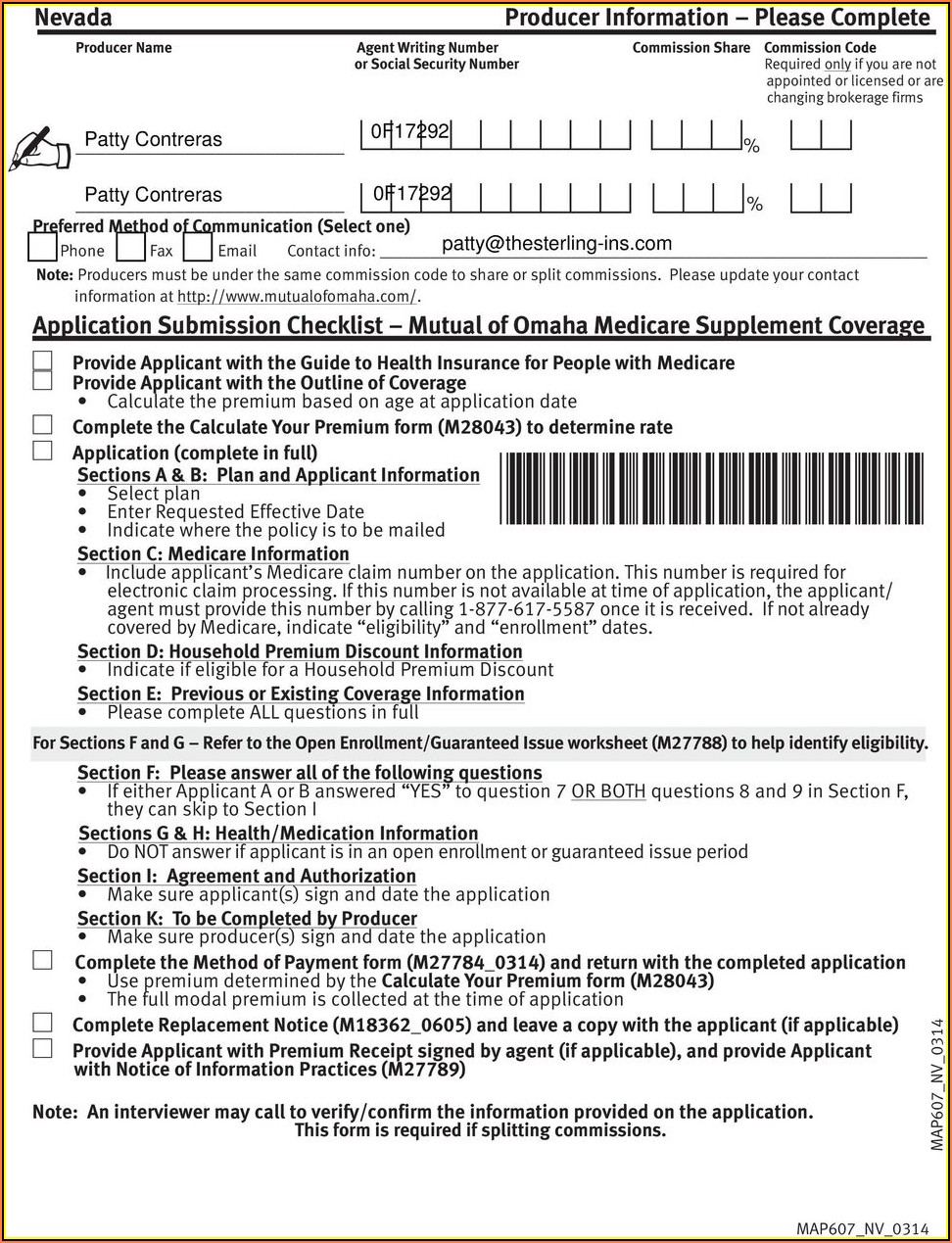 Mutual Of Omaha Medicare Supplement Plan G Application Form