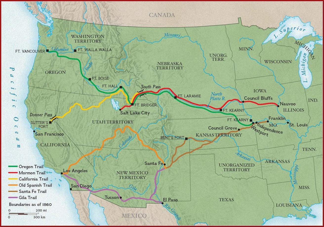 National Geographic Trail Maps Oregon