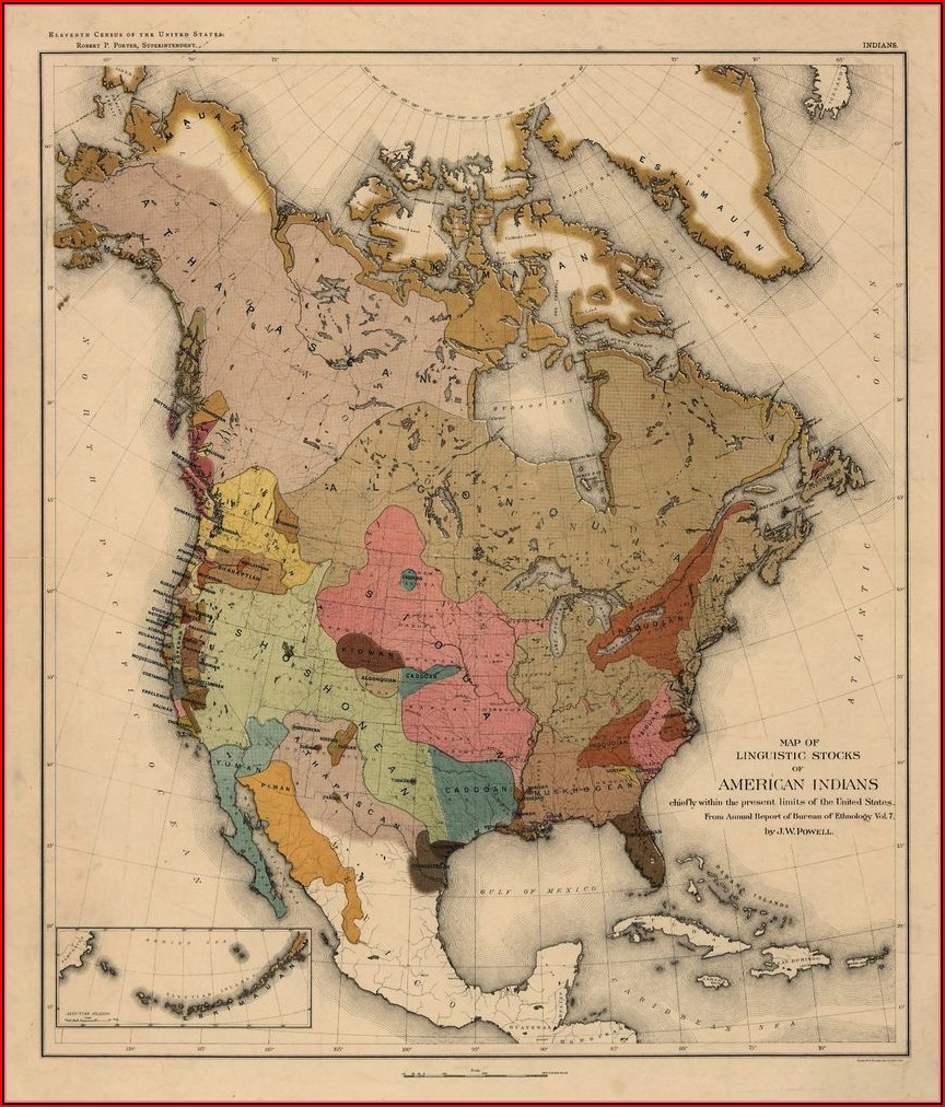 Native Land Map North America