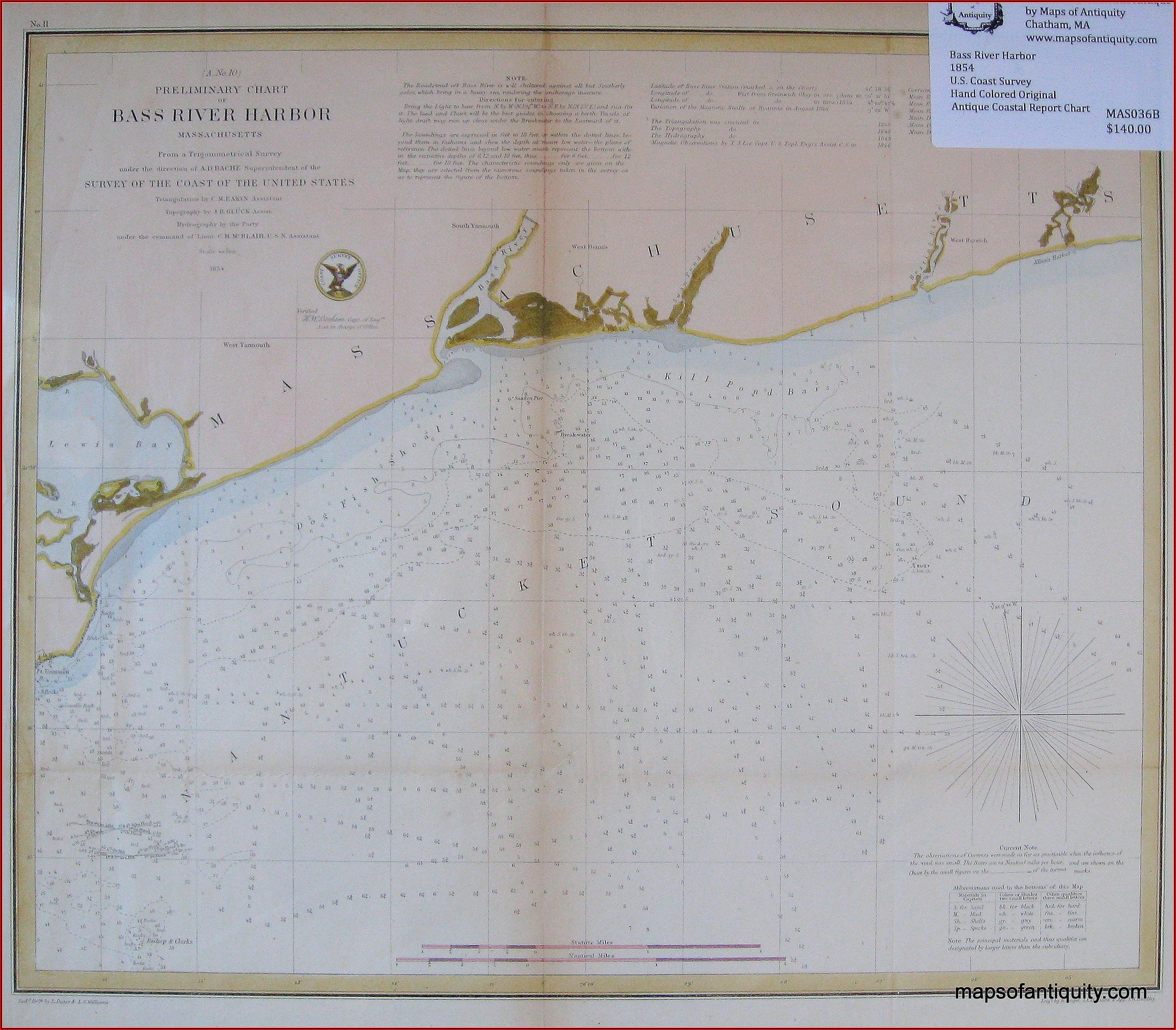 Nautical Chart Of Cape Cod