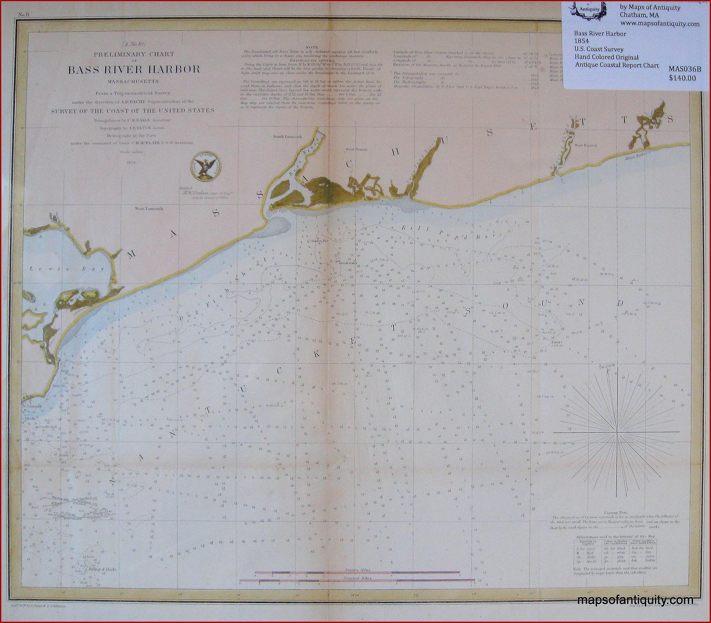 Nautical Chart Of Cape Cod