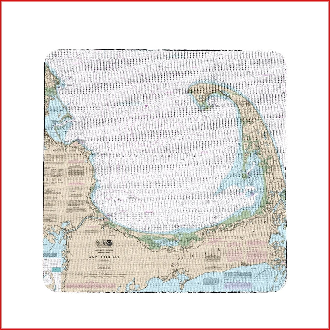 Nautical Map Of Cape Cod Bay