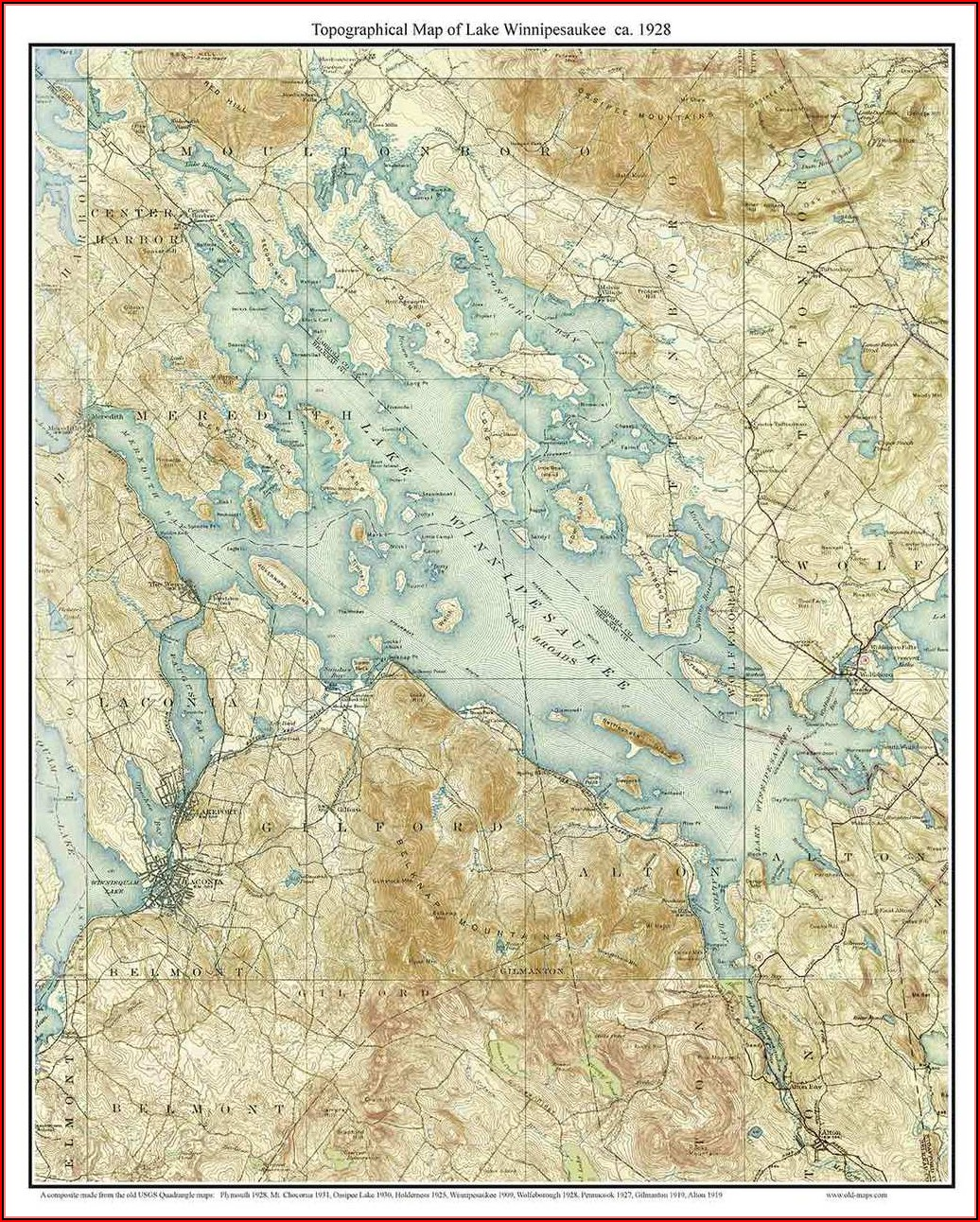 New Hampshire Topo Maps