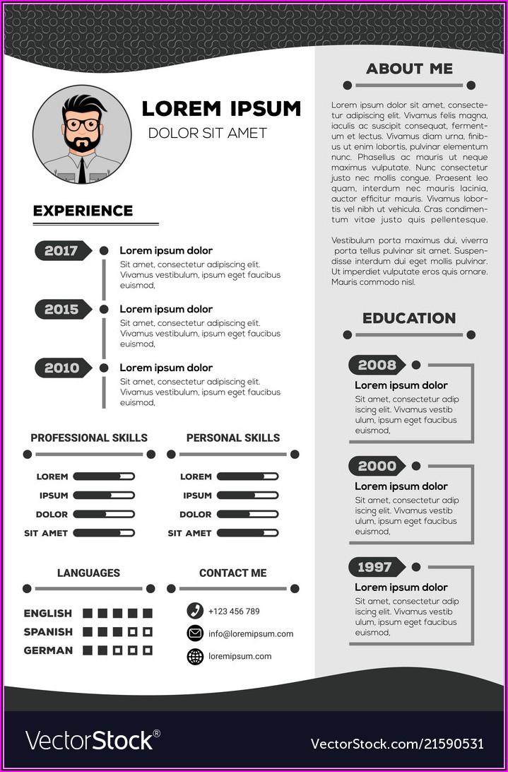 Nice Resume Template Free